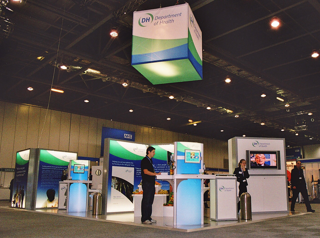 Flexible Exhibition Stands : A clean bill of health another example how modular